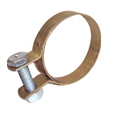 MS Hose Clamp Golden Zinc